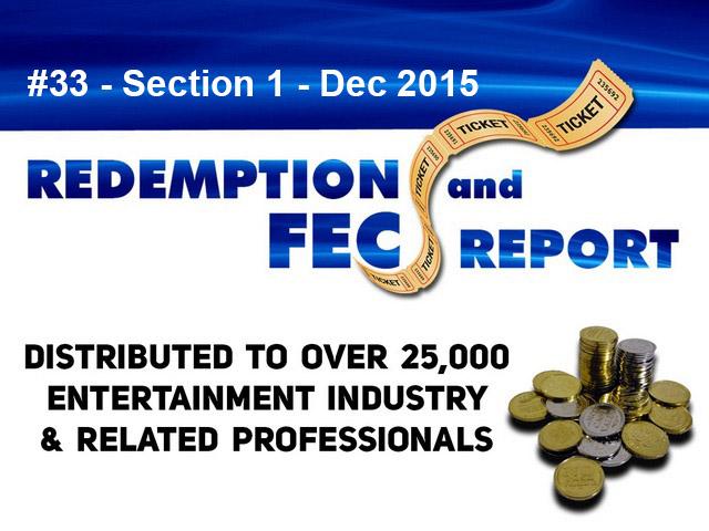 The Redemption & Family Entertainment Center Report – Dec 2015